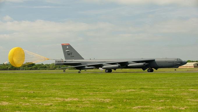 B-52s arrive at RAF Fairford