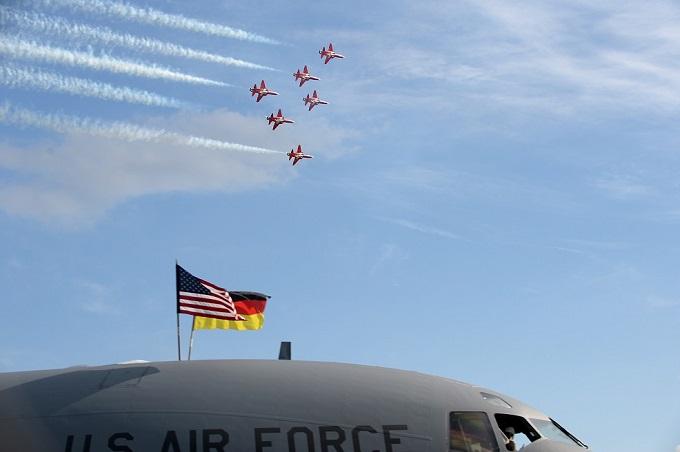 Berlin Trade Show flyover