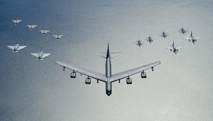 14 Aircraft, 4 Nations, 1 Alliance