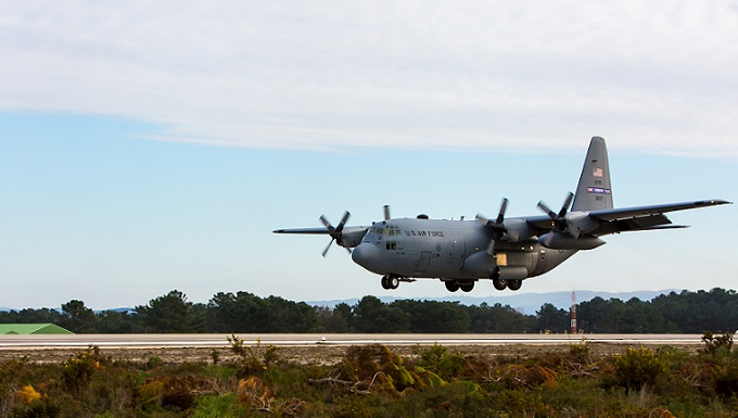 C-130s, Airmen deploy to Portugal for Real Thaw