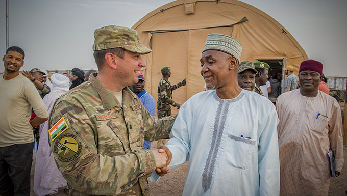 Airmen, Agadez civic leaders build partnership