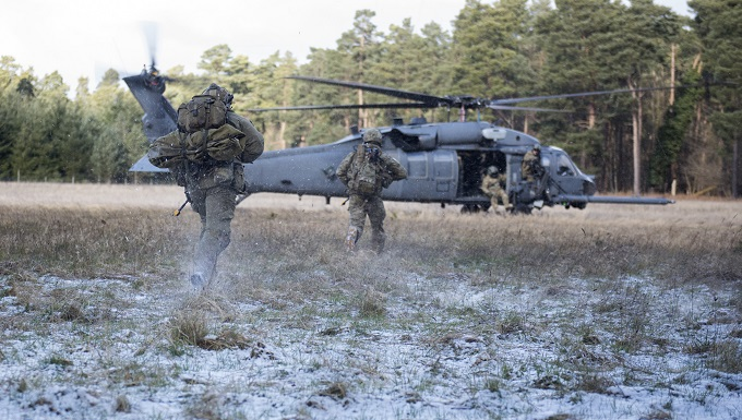US, UK focus on combat search and rescue during exercise