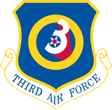 3rd Air Force Emblem